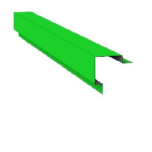 Angle de Bardage
