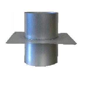 Sortie de ventilation cylindrique double moignon
