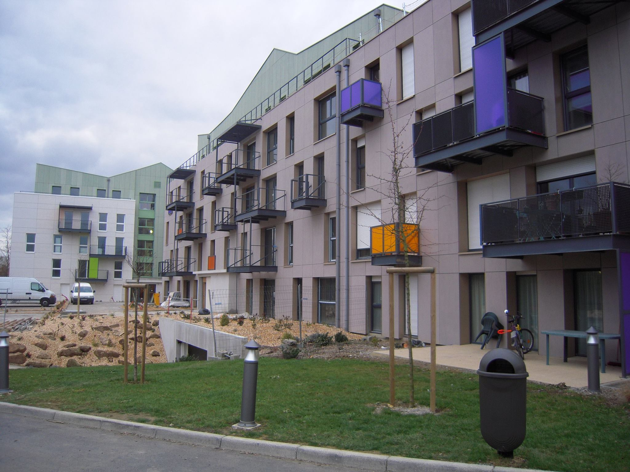 panneaux de façade TECTIVA et lames MULTICLAD