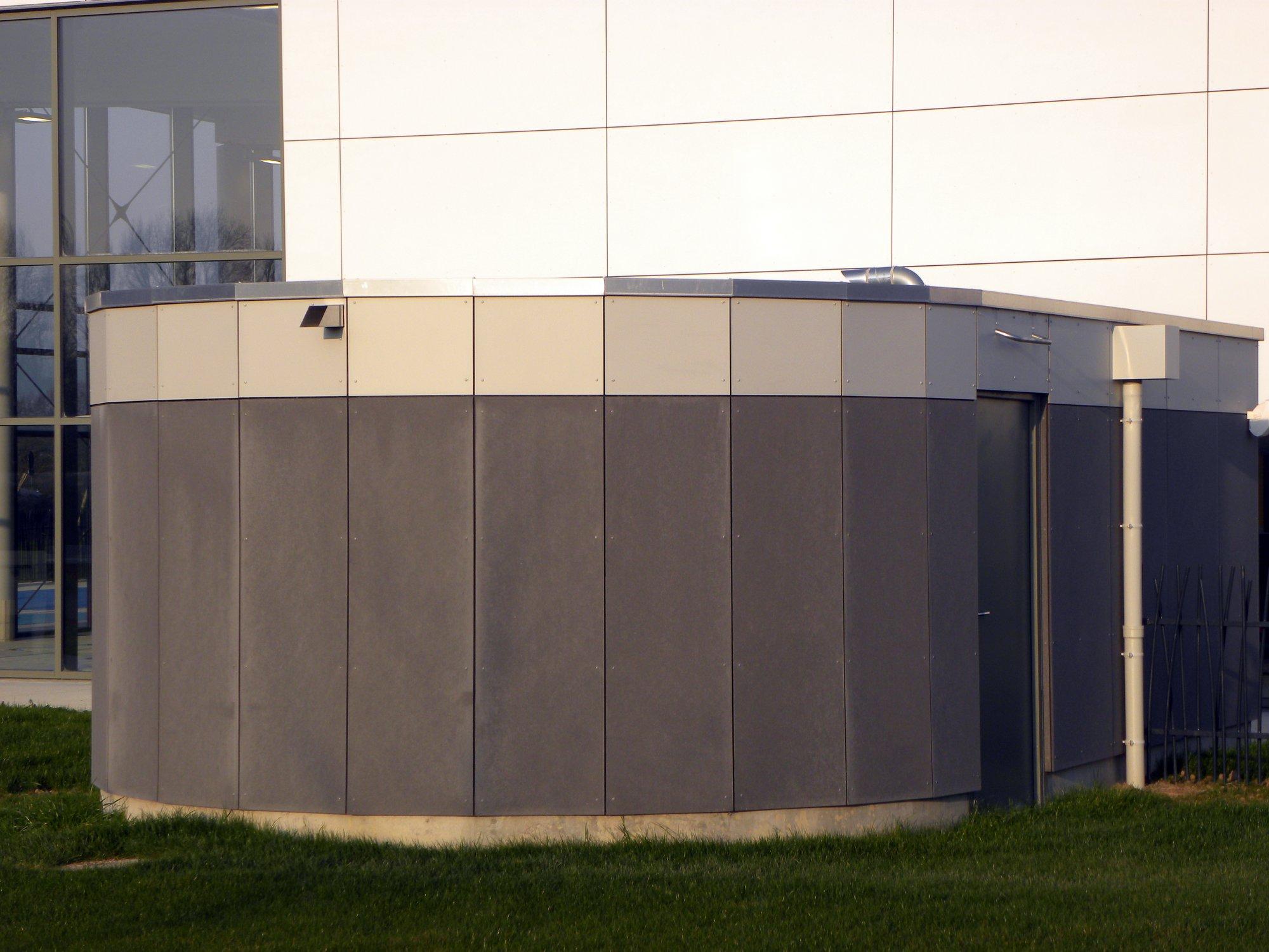 panneau de façade en fibrociment MATERIA, de la gammeEquitone