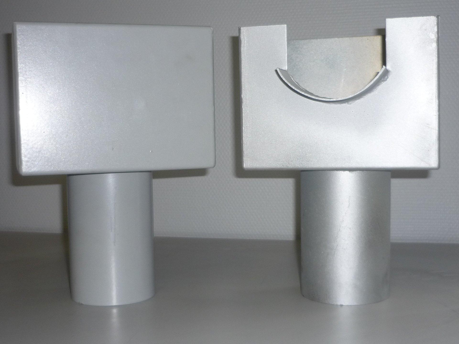 THERMOLAQUAGE pour post-laquer une pièce pliée, cintrée ou soudée