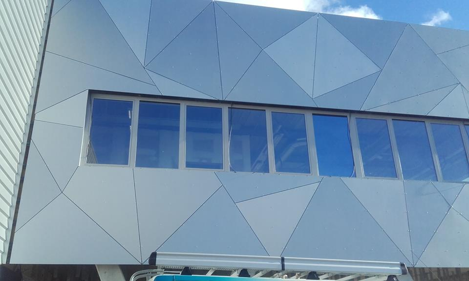 panneaux de façade stratifiés : TRESPA METEON
