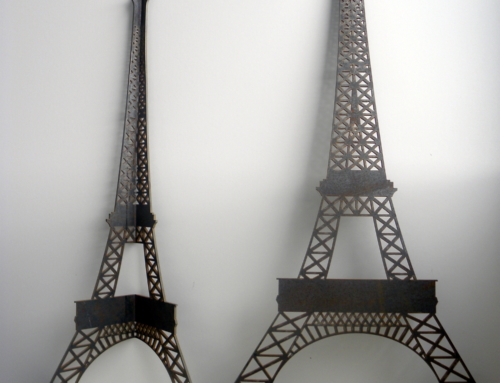 ZOOM CHANTIER – Des pieds de table basse à l'effigie de la Tour Eiffel