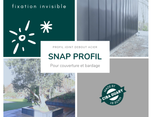 SNAP PROFIL – Profil joint debout made by CIBA OUARY !