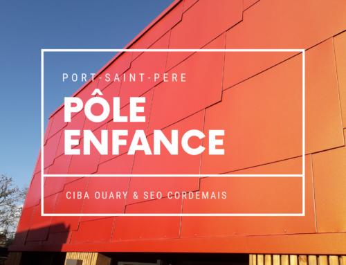 Zoom Chantier – Le pôle enfance écaillé de Port-Saint-Père