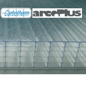 plaque alvéolaires en polycarbonate coextrudé
