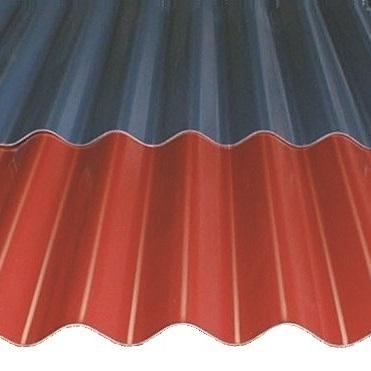 Tôle acier ondulée pour couverture