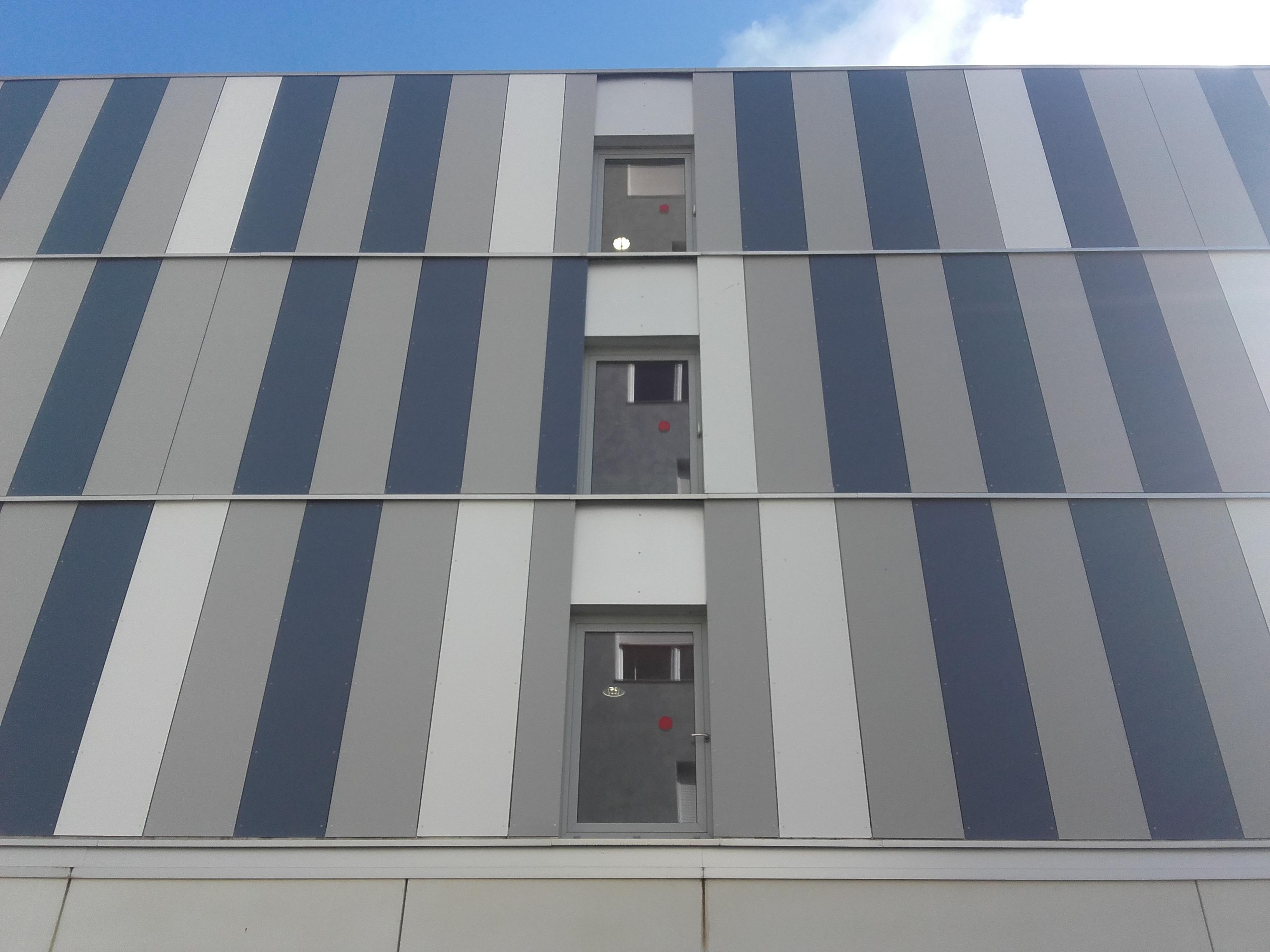façade en panneaux fibrociment PICTURA