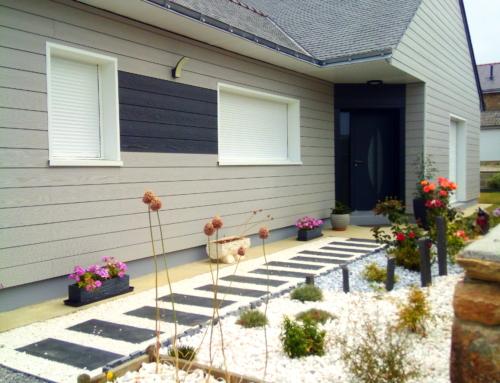 ZOOM CHANTIER – Maison individuelle parée d'un bardage CEDRAL CLICK