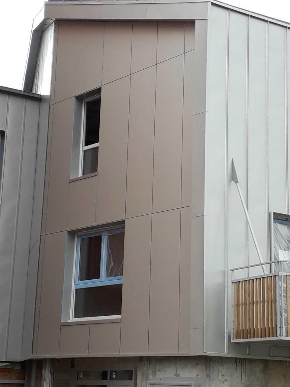 Les Rimiaux - panneaux de façade STAC BOND