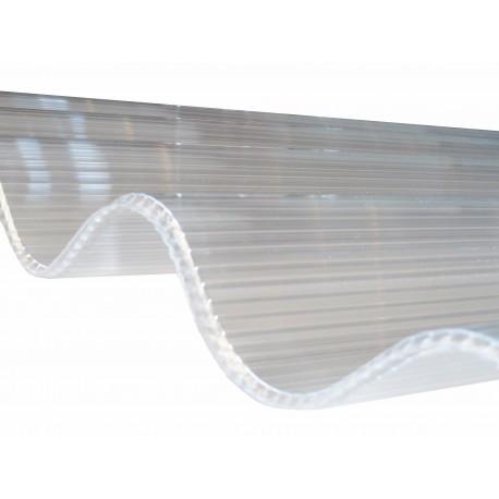 plaque ondulée asphltée pour toiture
