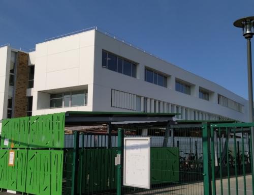 ZOOM CHANTIER – Plus de 4600m² de panneaux STACBOND au collège Isabelle AUTISSIER
