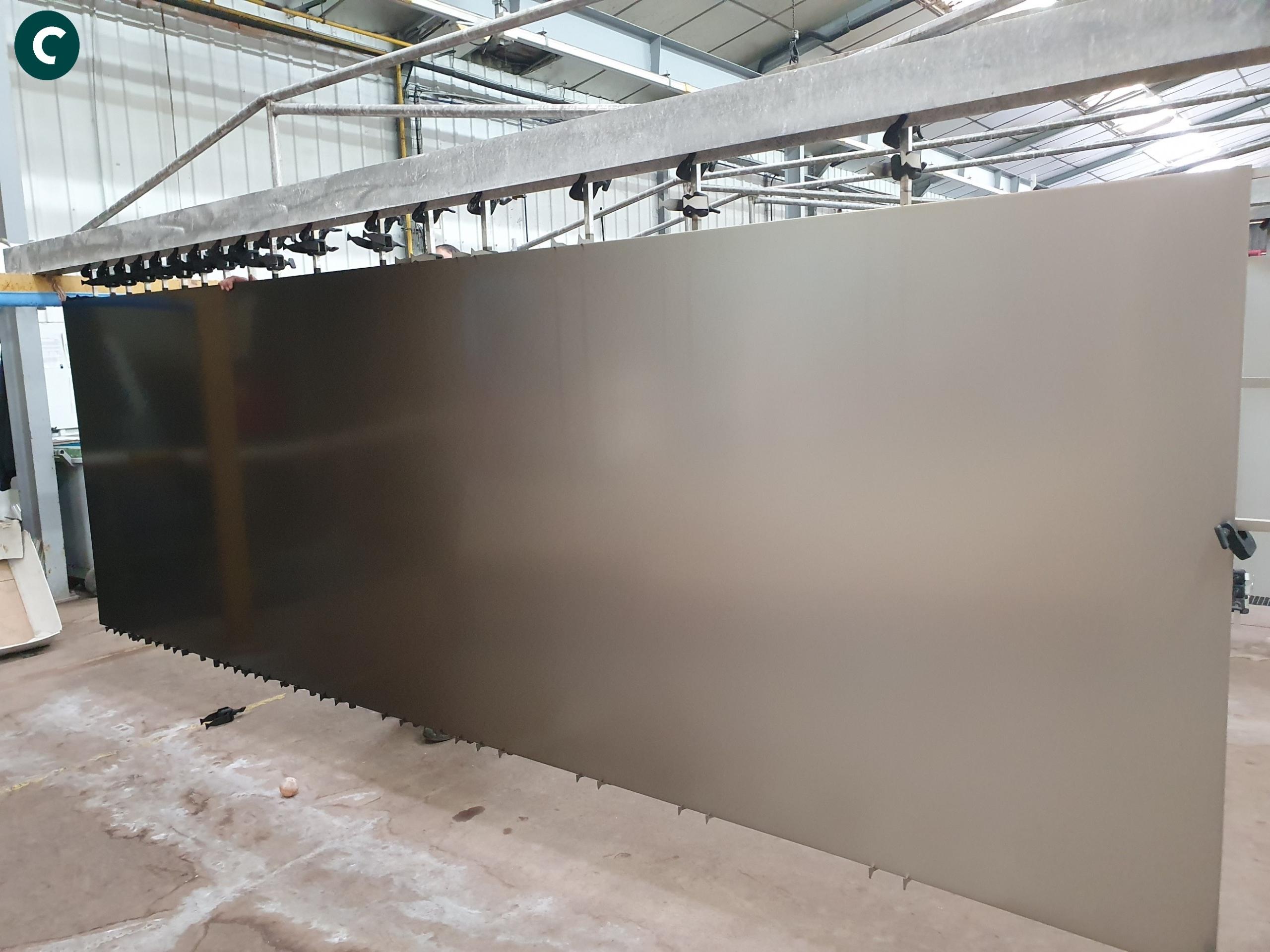 Anodisation tôle aluminium