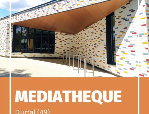 ZOOM CHANTIER – La nouvelle médiathèque de Durtal