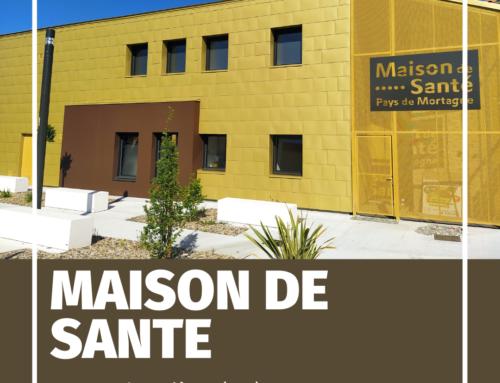 ZOOM CHANTIER – Des écailles pour la Maison de Santé de La Gaubretière (85)